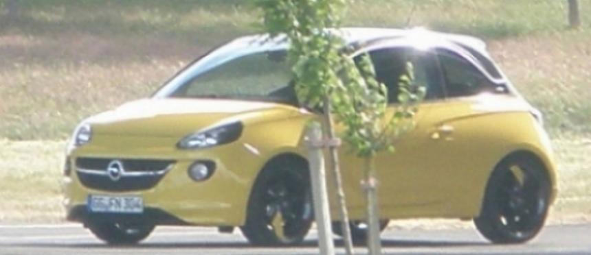 Nuevo y revelador vistazo al Opel Adam