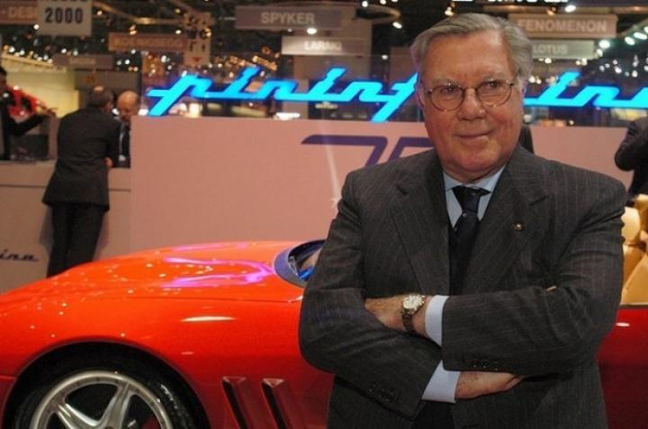Murió Sergio Pininfarina, padre de los mejores diseños de Ferrari