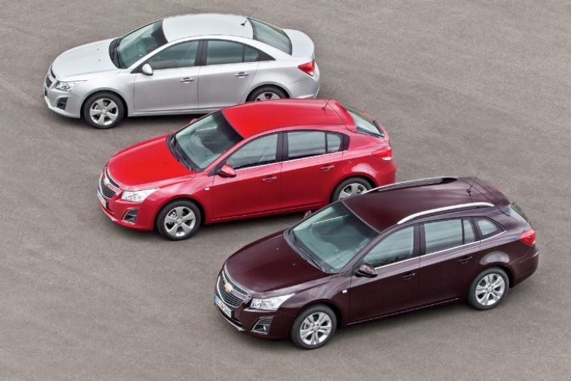 Chevrolet Cruze 2013. En España, a partir de 16.525 euros
