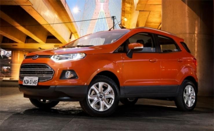La nueva Ford Ecosport global fue presentada en Brasil