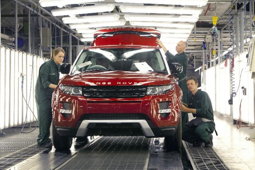 La fábrica de Land Rover en Halewood, a pleno rendimiento para satisfacer la demanda del Evoque