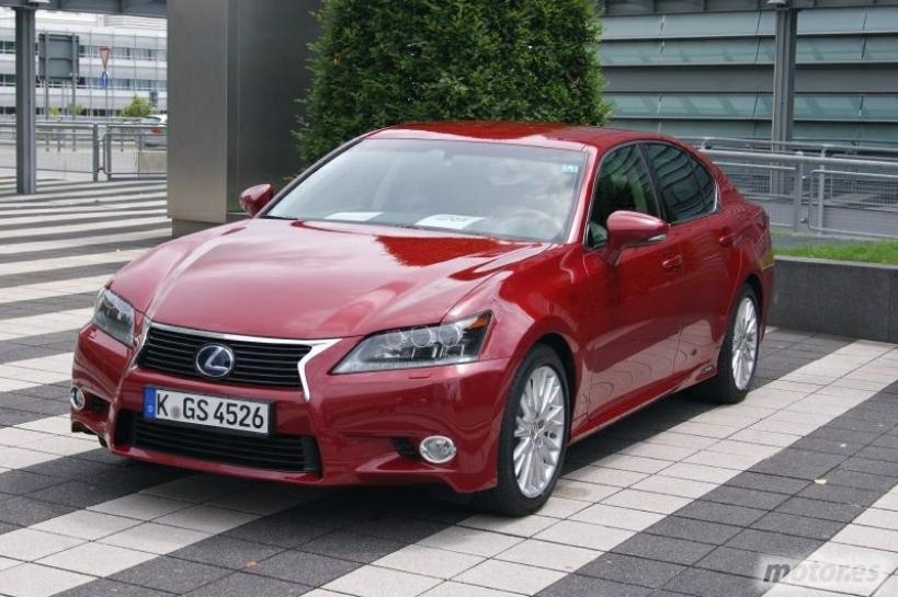Las ventas del GS 450h sorprenden a Lexus