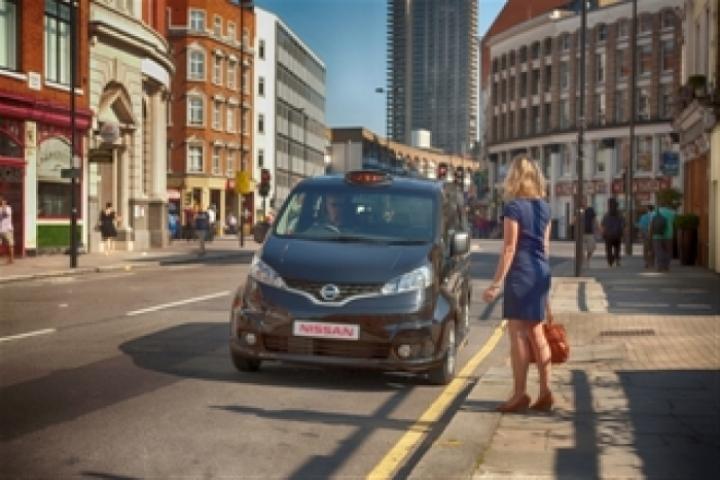 Londres acoge taxis NV200 hechos en Barcelona