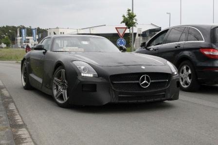 Video espía del Mercedes SLS AMG Black Series