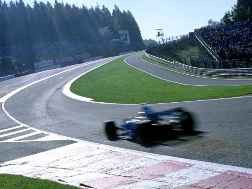 El circuito de Spa-Francorchamps: Odiado y querido por los pilotos de F1