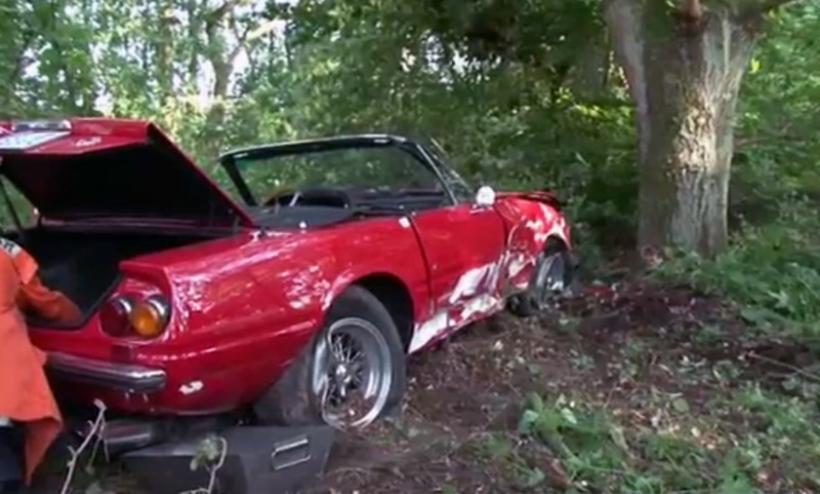 Uno de los pocos Ferrari Daytona Spider pasa a mejor vida
