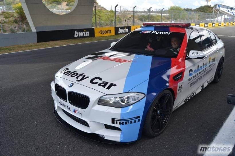 BMW M5 . Nos subimos en el Safety Car de MotoGP