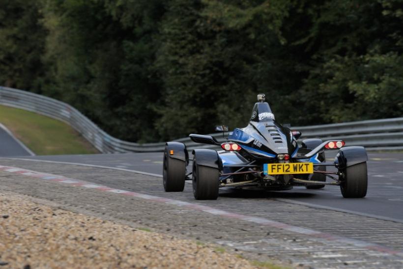 Un Fórmula Ford con motor EcoBoost un litro marca record en Nürburgring