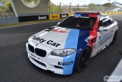 BMW M5 . Nos subimos en el Safety Car de MotoGP