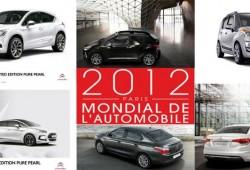Citroën en el Salón de París 2012