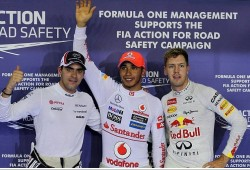 Hamilton logra una pole estratosférica a medio segundo de Vettel