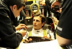 Carrerón de Pedro de la Rosa en el Gran Premio de Singapur