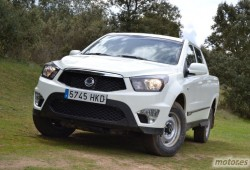 Ssangyong Actyon Sports Pick Up 200Xdi. Ocio y trabajo