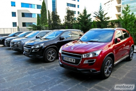 Presentación en Madrid del Peugeot 4008