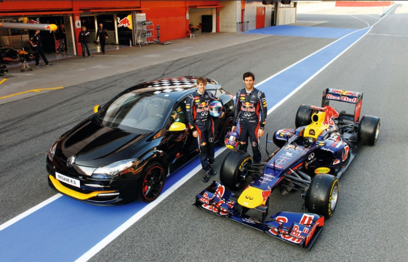 Renault Megane RS RB7, edición especial homenaje a Red Bull