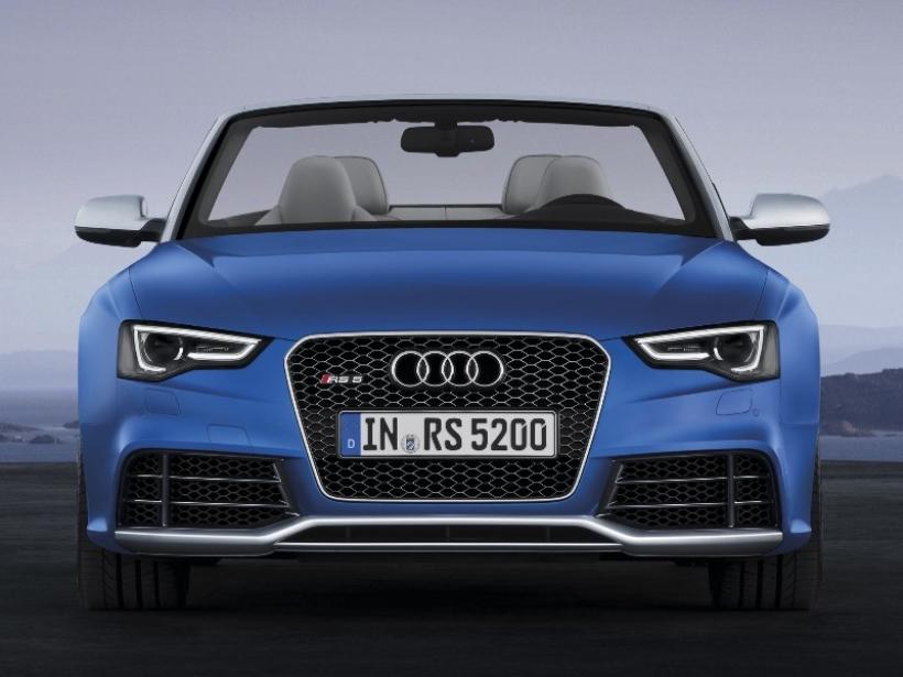 Nuevo Audi RS5 Cabriolet: Emoción a cielo abierto