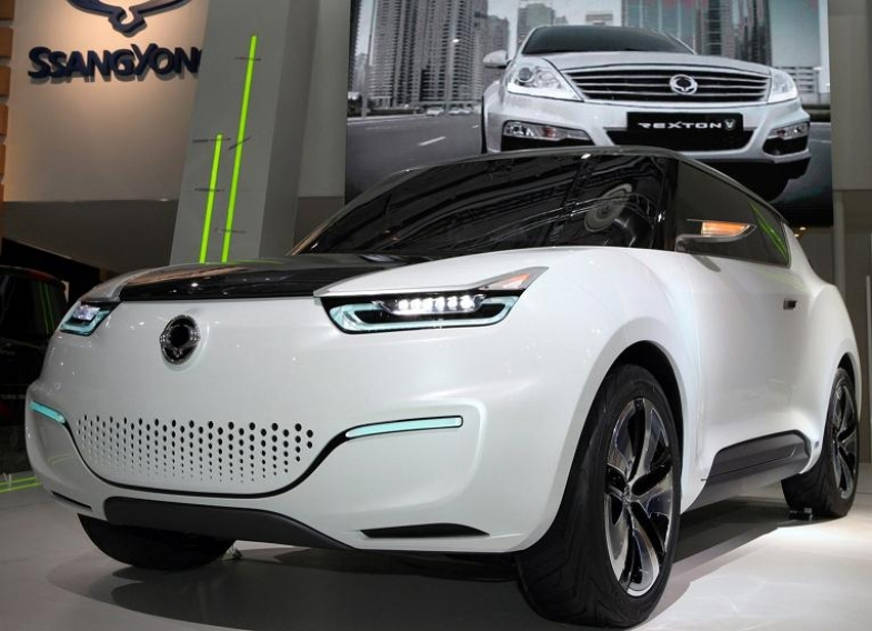 SsangYong e-XIV Concept: eléctrico de autonomía extendida