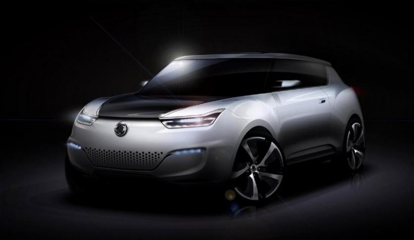 SsangYong presenta el e-XIV Concept