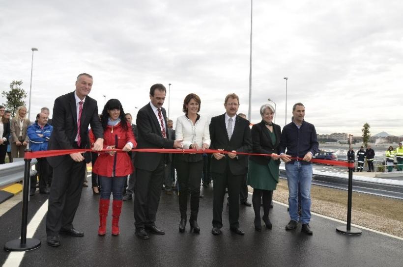 Volkswagen inaugura una nueva pista de pruebas en Navarra