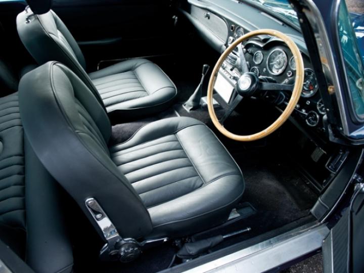 Aston Martin DB5 de Paul McCartney a subasta