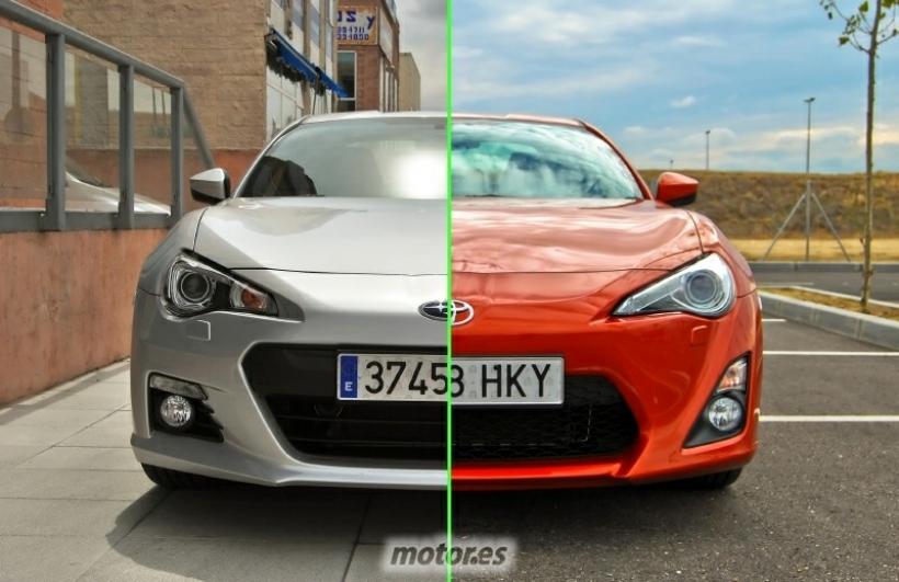 Toyota GT86 vs Subaru BRZ ¿Cuáles son sus diferencias y cuál elegir?