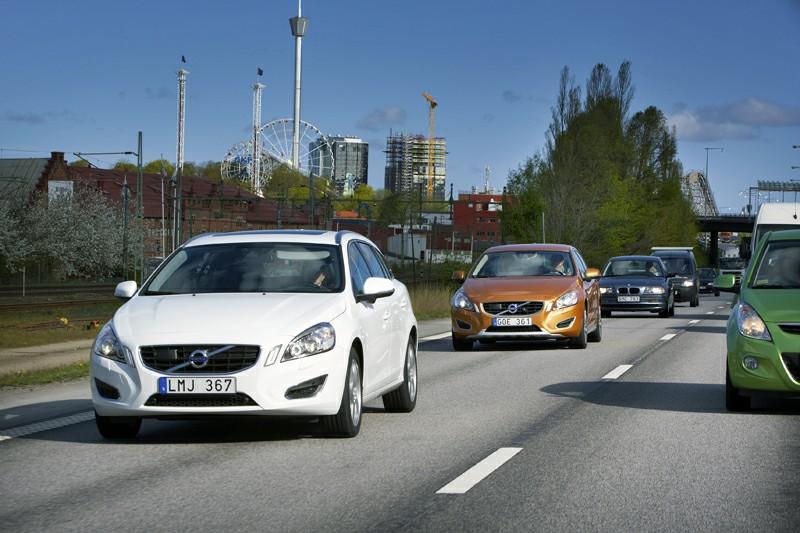 Volvo introducirá un sistema de asistencia en atascos de tráfico