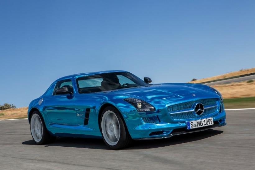 Mercedes SLS AMG Coupé Electric Drive, el eléctrico más poderoso