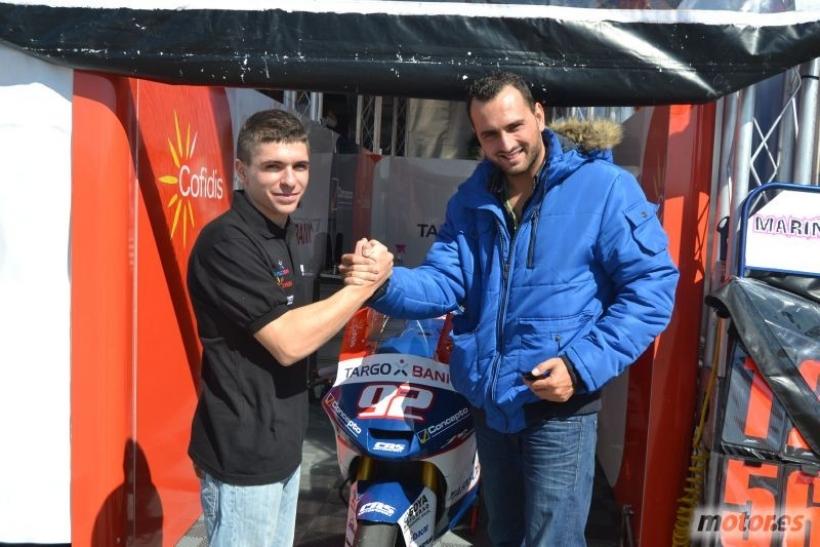 Un wild card en Moto2
