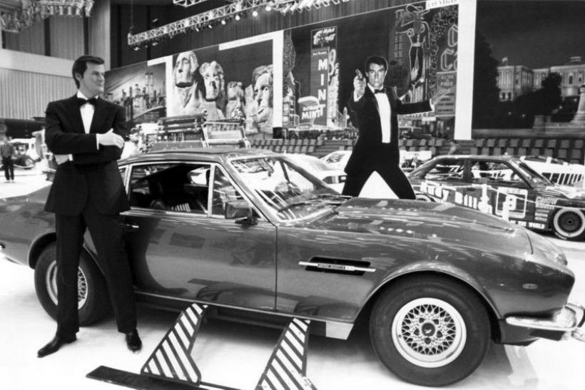 Los coches de James Bond (III). Aston Martin V8 Vantage 1987