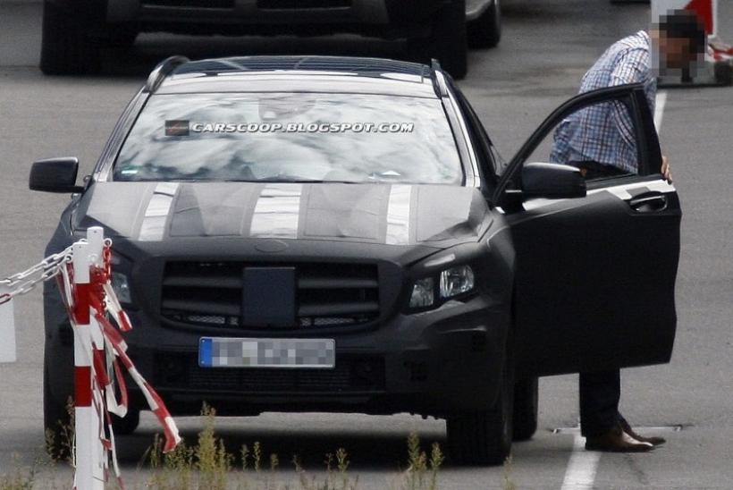Fotos espía: Mercedes GLA (nuevo SUV compacto)