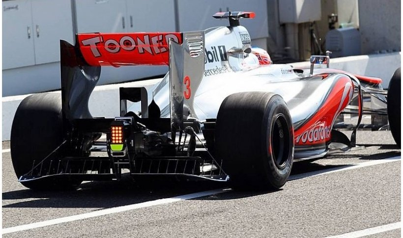 Jenson Button, el hombre más rápido por delante de Hamilton