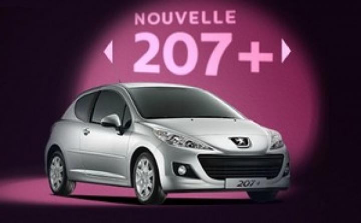 Peugeot 207+ busca repetir el éxito del 206+