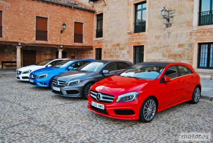 Conducimos el nuevo Mercedes Clase A en su presentación
