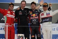 Vettel gana en Suzuka y se coloca a 4 puntos de Alonso