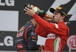Fernando Alonso satisfecho con la carrera de ayer