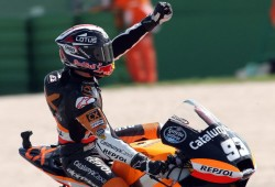 Espargaró gana y Marc Márquez ya es campeón del mundo