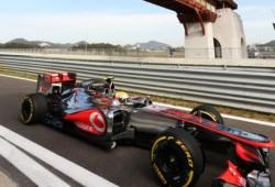 Hamilton logra el mejor tiempo, con Alonso segundo
