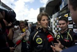 """Grosjean pide disculpas a Webber: """"Fue un error estúpido"""""""