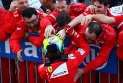 """Massa vuelve al podio: """"Es un alivio, fue genial"""""""