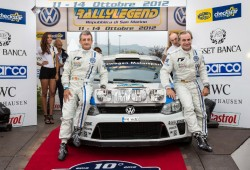 Carlos Sainz y Luis Moya estrenan el VW Polo R WRC en competición