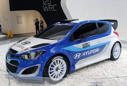 Con el i20 WRC Hyundai vuelve al Mundial de Rally