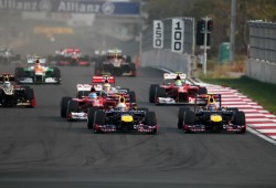 Así está el mercado de fichajes de la F1 2013