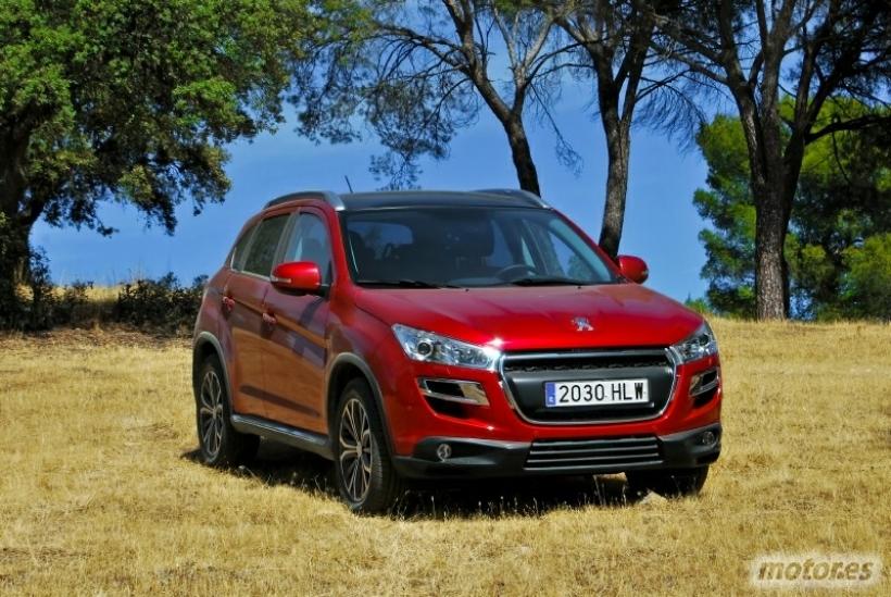 Peugeot 4008 1.8 HDi 150 4x4 Allure. Más compacto, más versátil - Toma de contacto