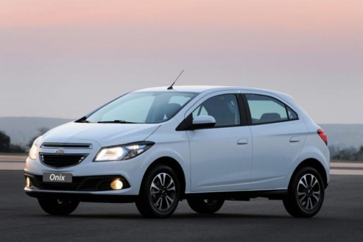 Chevrolet muestra el Onix antes de su debut en Brasil