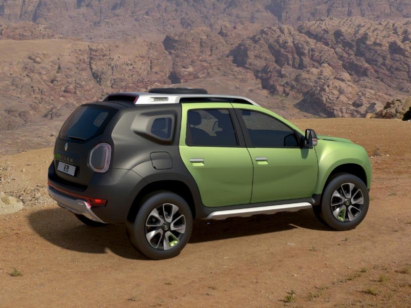 Renault Duster DCross concept, otro SUV de estética 4x4