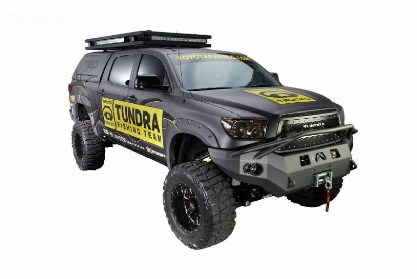 Ultimate Fishing Toyota Tundra, pesca radical