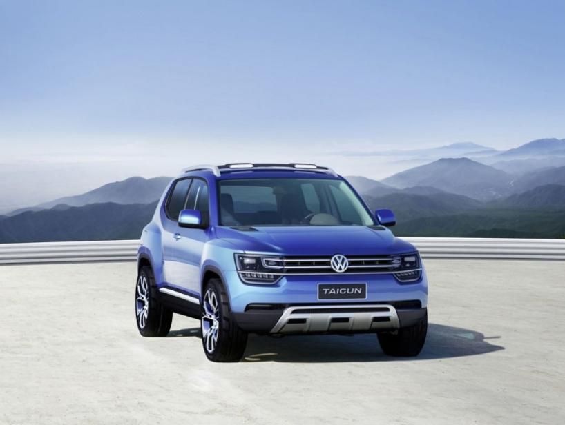 Volkswagen Taigun Concept: el futuro pequeño SUV de Wolfsburgo