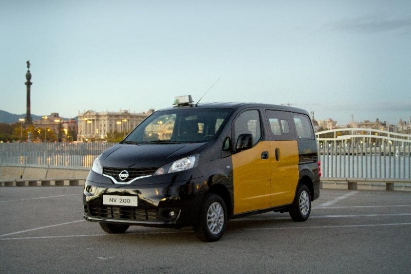 El Nissan NV200, el nuevo taxi de Barcelona