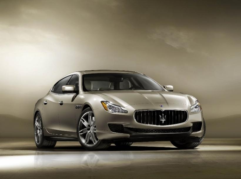 Maserati Quattroporte 2013, ahora en vídeo
