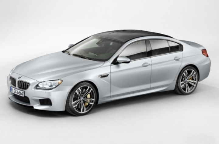 BMW M6 Gran Coupé filtrado en web rusa